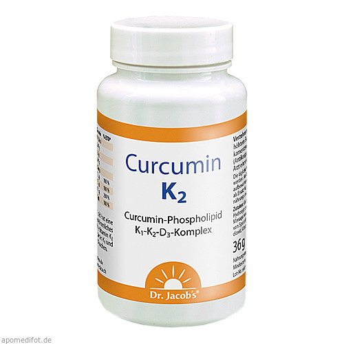 Curcumin K2 Dr. Jacob's, 60 ST, Dr.Jacobs Medical GmbH