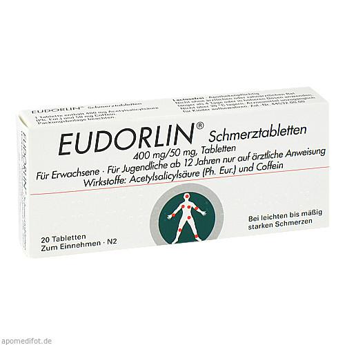 Eudorlin Schmerztabletten, 20 ST, Berlin-Chemie AG
