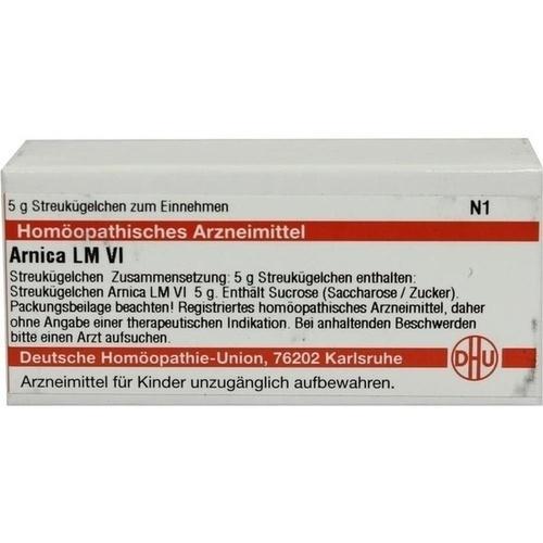 LM ARNICA VI, 5 G, Dhu-Arzneimittel GmbH & Co. KG