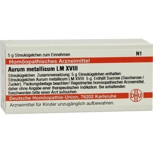 LM AURUM MET XVIII, 5 G, Dhu-Arzneimittel GmbH & Co. KG