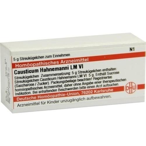 LM CAUSTICUM HAHNEMA VI, 5 G, Dhu-Arzneimittel GmbH & Co. KG