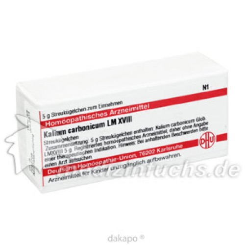 LM KAL CARB XVIII, 5 G, Dhu-Arzneimittel GmbH & Co. KG