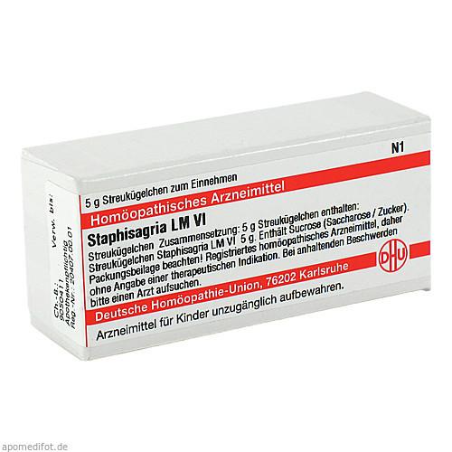 LM STAPHISAGRIA VI, 5 G, Dhu-Arzneimittel GmbH & Co. KG