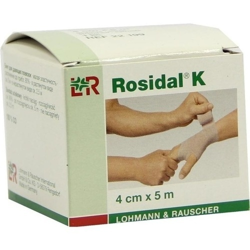 Rosidal-Binde Kräftig 4cmx5m, 1 ST, Lohmann & Rauscher GmbH & Co. KG