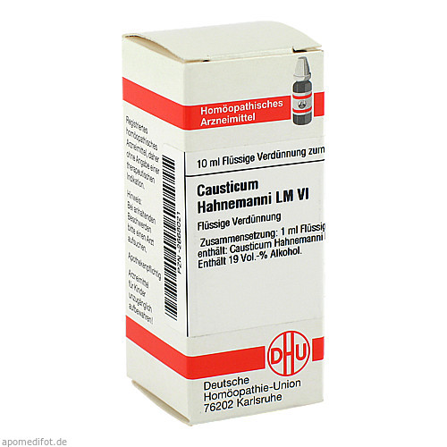 LM CAUSTICUM HAHNEMA VI, 10 ML, Dhu-Arzneimittel GmbH & Co. KG