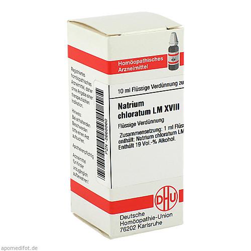 LM NATR CHLORATUM XVIII, 10 ML, Dhu-Arzneimittel GmbH & Co. KG