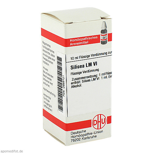 LM SILICEA VI, 10 ML, Dhu-Arzneimittel GmbH & Co. KG