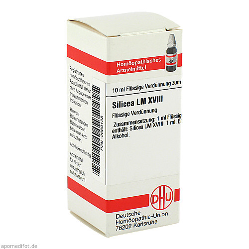LM SILICEA XVIII, 10 ML, Dhu-Arzneimittel GmbH & Co. KG