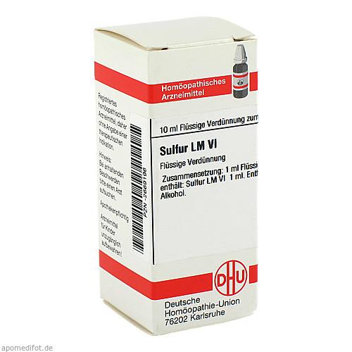 LM SULFUR VI, 10 ML, Dhu-Arzneimittel GmbH & Co. KG