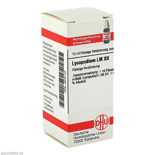 LM LYCOPODIUM XII, 10 ML, Dhu-Arzneimittel GmbH & Co. KG