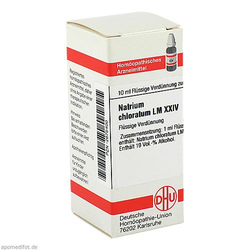 LM NATR CHLORATUM XXIV, 10 ML, Dhu-Arzneimittel GmbH & Co. KG