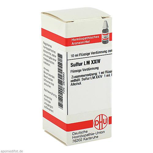 SULFUR LM XXIV, 10 ML, Dhu-Arzneimittel GmbH & Co. KG
