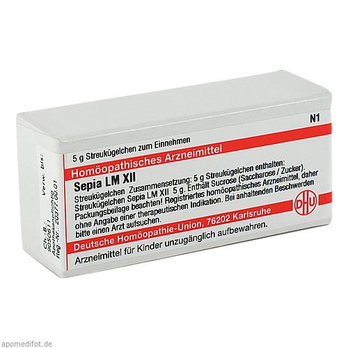 LM SEPIA XII, 5 G, Dhu-Arzneimittel GmbH & Co. KG