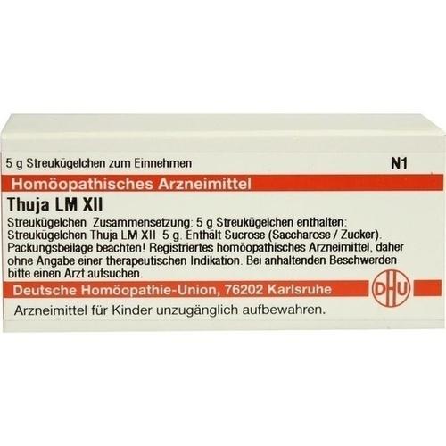 LM THUJA XII, 5 G, Dhu-Arzneimittel GmbH & Co. KG