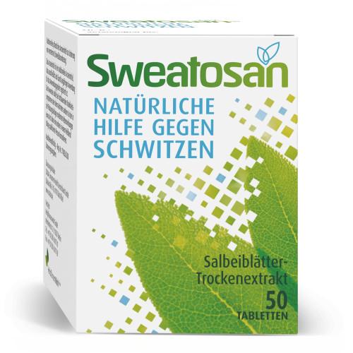 Sweatosan, 50 ST, GlaxoSmithKline Consumer Healthcare GmbH & Co. KG