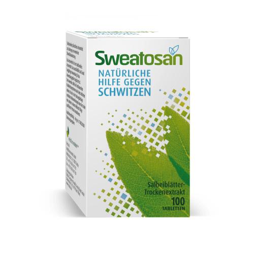 Sweatosan, 100 ST, GlaxoSmithKline Consumer Healthcare
