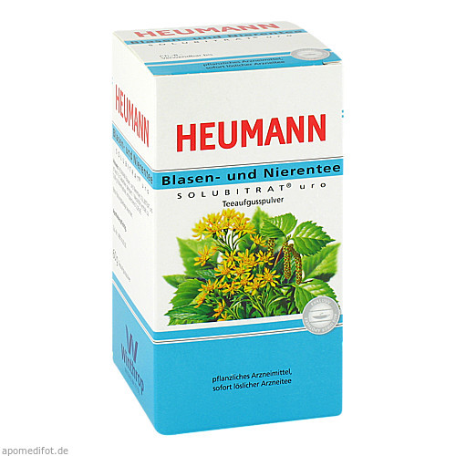 HEUMANN Blasen-und Nierentee SOLUBITRAT uro, 60 G, ANGELINI Pharma Österreich GmbH