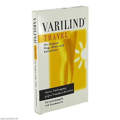 VARILIND TRAVEL Knie BW anthrazit Gr.S, 2 ST, Paracelsia Pharma GmbH