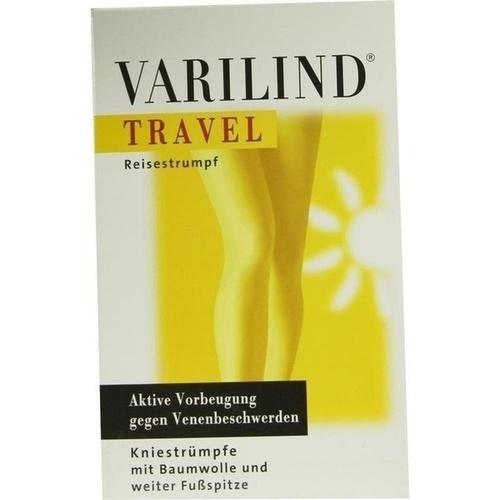 VARILIND TRAVEL Knie BW anthrazit Gr.L, 2 ST, Paracelsia Pharma GmbH