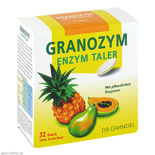 GRANOZYM ENZYM-TALER GRANDEL, 32 ST, Dr. Grandel GmbH