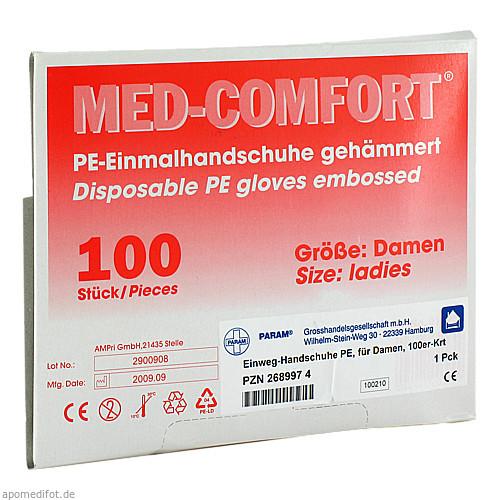HANDSCHUHE PLASTIK DAMEN, 100 ST, Param GmbH