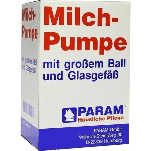 MILCHPUMPE GLAS GROSS BALL, 1 ST, Param GmbH