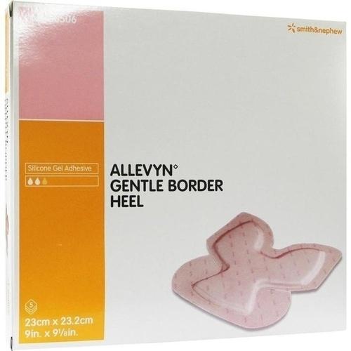Allevyn Gentle Border Heel, 5 ST, Smith & Nephew GmbH