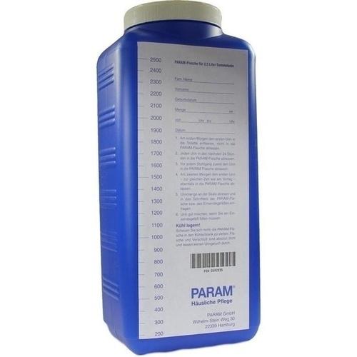 URINSAMMELGEFAESS U DECKEL, 2.5 L, Param GmbH
