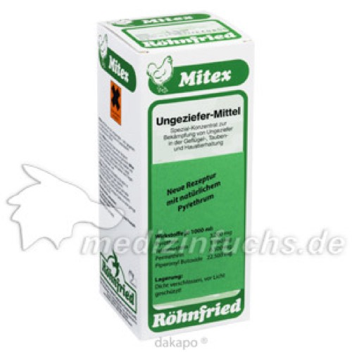 MITEX VET RÖHNFRIED, 500 ML, Dr. Hesse Tierpharma GmbH & Co. KG