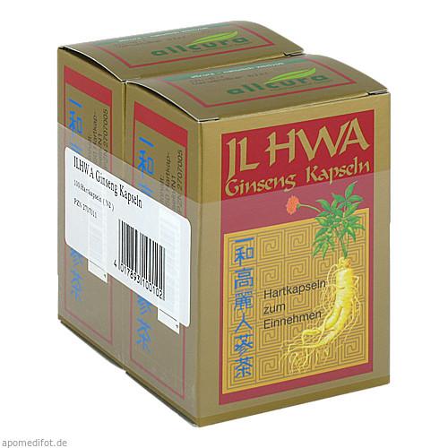 Ginseng IL HWA Kapseln, 100 ST, Allcura Naturheilmittel GmbH