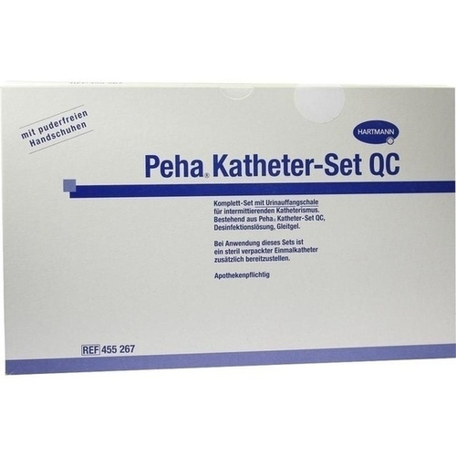 PEHA KATHETER Set QC, 1 ST, PAUL HARTMANN AG