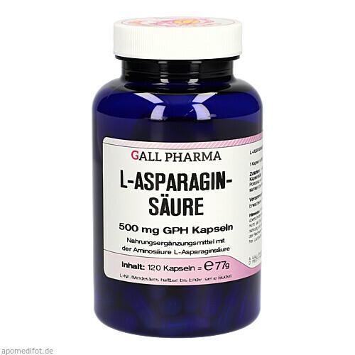 L-ASPARAGINSÄURE 500mg, 120 ST, Hecht-Pharma GmbH