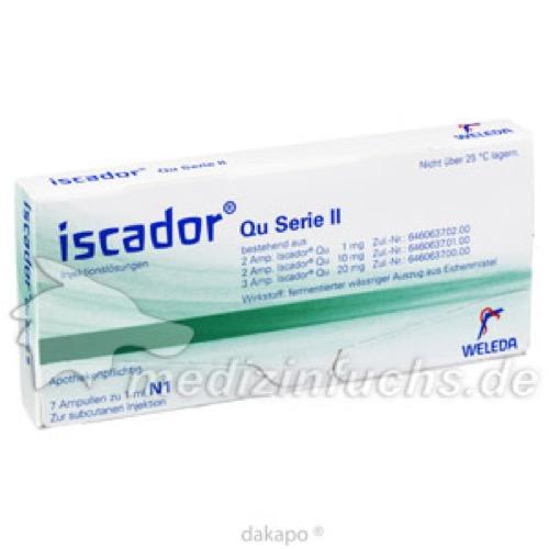 ISCADOR Qu Serie II Injek.-Lsg i.e.Amp., 7x1 ML, Weleda AG
