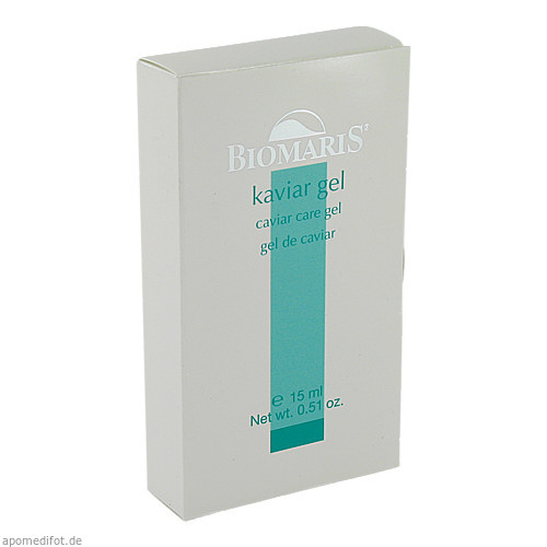 BIOMARIS Kaviar Gel, 15 ML, BIOMARIS GmbH & Co. KG