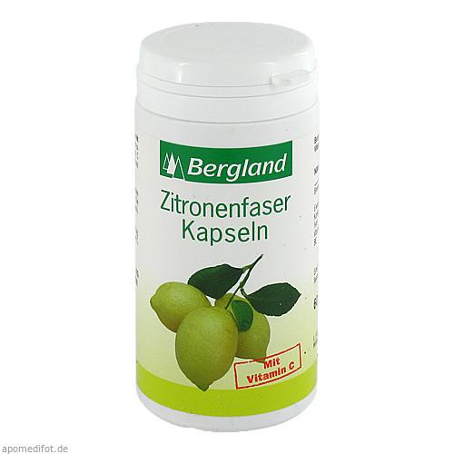 ZITRONENFASER Kapseln mit Vitamin C, 60 ST, Bergland-Pharma GmbH & Co. KG