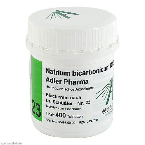 Biochemie Adler 23 Natrium Bicarbonicum D12 Adler, 400 ST, Adler Pharma Produktion und Vertrieb GmbH