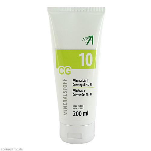 Mineralstoff Cremegel Nr.10, 200 ML, Adler Pharma Produktion und Vertrieb GmbH