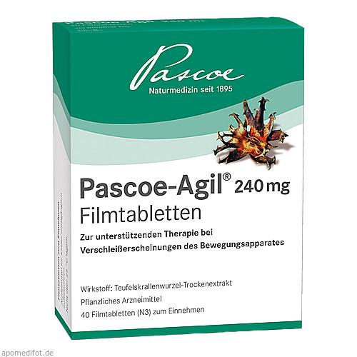 Pascoe-Agil 240 mg, 40 ST, Pascoe pharmazeutische Präparate GmbH