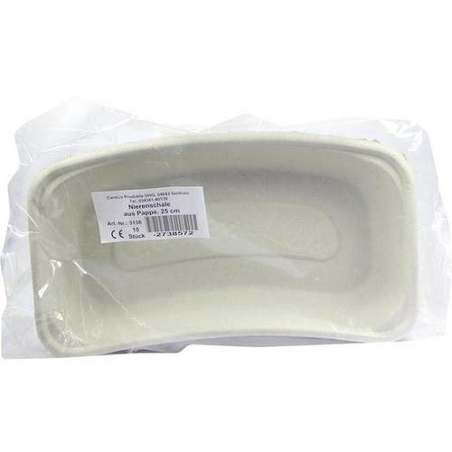 Nierenschale Pappe 25cm, 10 ST, Careliv Produkte Ohg