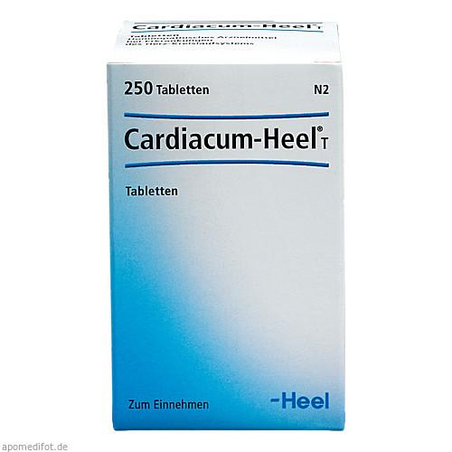 Cardiacum-Heel T, 250 ST, Biologische Heilmittel Heel GmbH