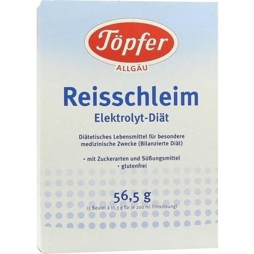 Toepfer Reisschleim Electrolyt Diaet, 5 ST, TÖPFER GmbH