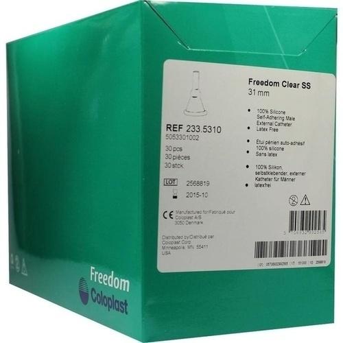 Freedom Clear SS UrinalKondom Intermedium, 30 ST, Coloplast GmbH