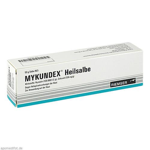 MYKUNDEX Heilsalbe, 50 G, RIEMSER Pharma GmbH