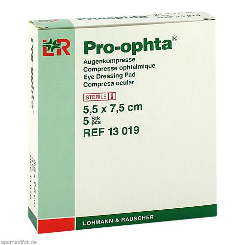 PRO OPHTA AUG K ST 5.5X7.5, 5 ST, Lohmann & Rauscher GmbH & Co. KG