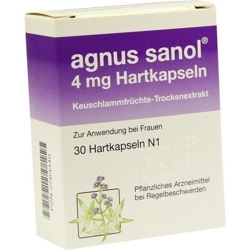 Agnus sanol, 30 ST, APONTIS PHARMA GmbH & Co. KG