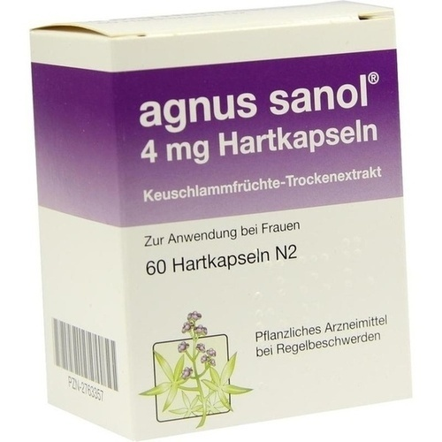 Agnus sanol, 60 ST, APONTIS PHARMA GmbH & Co. KG