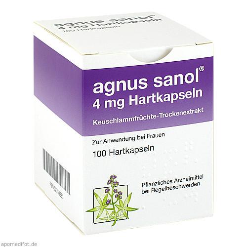 Agnus sanol, 100 ST, UCB Innere Medizin GmbH & Co. KG