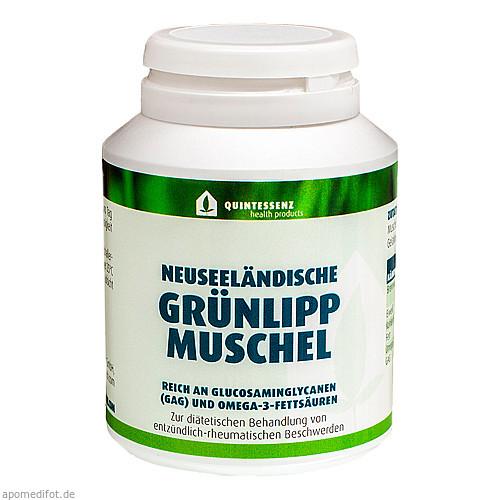 Grünlippmuschel, 120 ST, Quintessenz health products GmbH