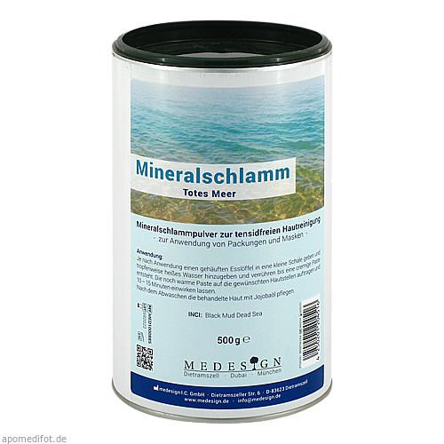 Mineral Schlamm aus dem Toten Meer, 500 G, Medesign I. C. GmbH