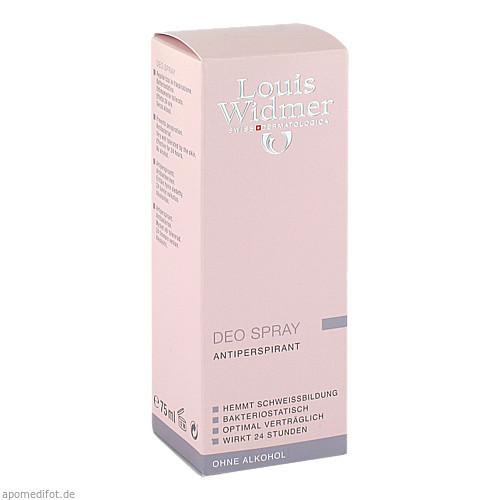 WIDMER Deo Spray leicht parfümiert, 75 ML, Louis Widmer GmbH